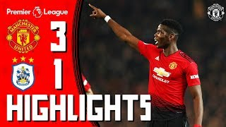 Highlights   Manchester United 3 1 Huddersfield Town   Premier League