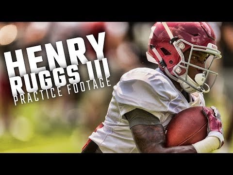 Could speedy Alabama freshman Henry Ruggs contribute as a returner?