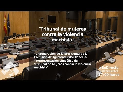 """Acto """"Tribunal de mujeres contra la violencia machista"""""""
