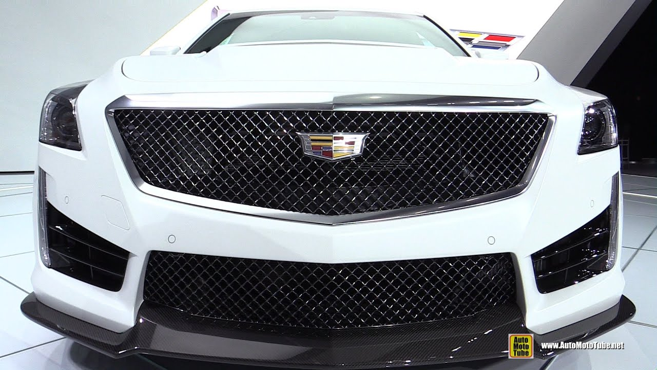 2016 cadillac cts v exterior and interior walkaround. Black Bedroom Furniture Sets. Home Design Ideas