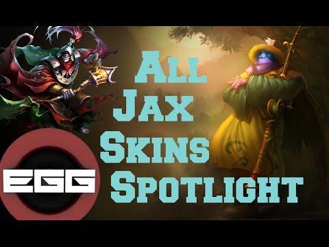 all-jax-skins-spotlight-|-league-of-legends-skin-review
