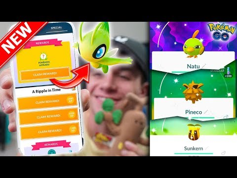 THE CELEBI QUEST IN POKÉMON GO! *SPOILER ALERT* NEW Celebi Quest Explained + NEW SHINIES & EVENT!