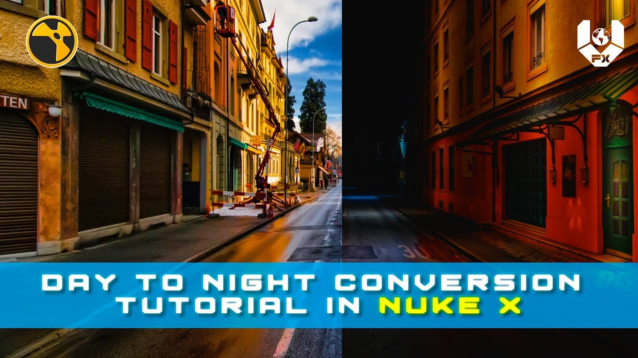 Day To Night Conversion in NUKE X
