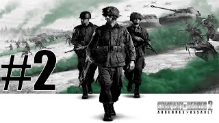 Let`s Play Company Of Heroes 2 Ardennes Assault Gameplay Part 2 - Defending against the hordes!