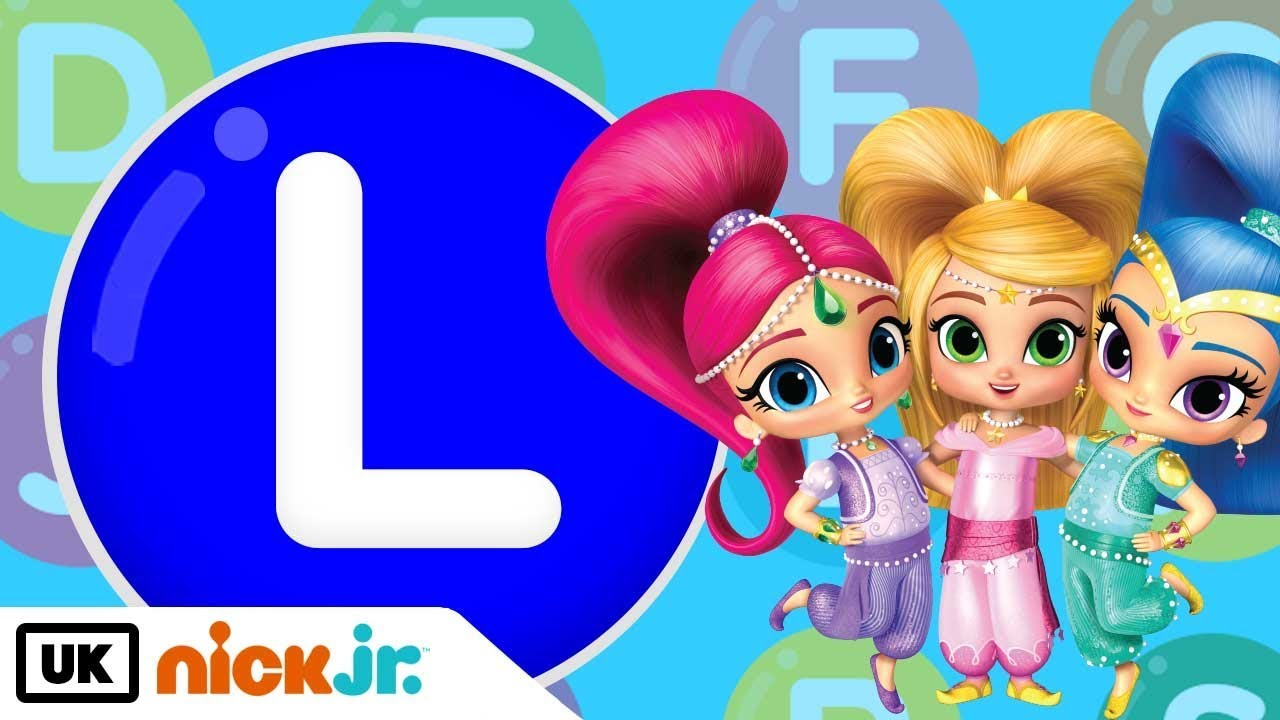 words beginning with l featuring shimmer and shine nick jr uk