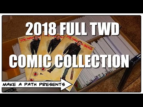 FULL COLLECTION: THE WALKING DEAD COMICS [JAN 2018]