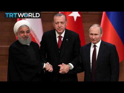 Syria Summit: Turkey, Russia, Iran leaders meet on Syria