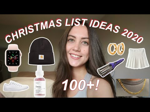 100 Christmas List Ideas 2020 What To Put On Your Christmas List Christmas Gift Ideas 2020 Youtube
