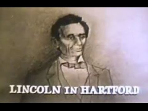 """1960   WTIC-TV (now WFSB)   Abraham """"Lincoln in Hartford,"""" Connecticut   Channel 3   Dick Bertel"""