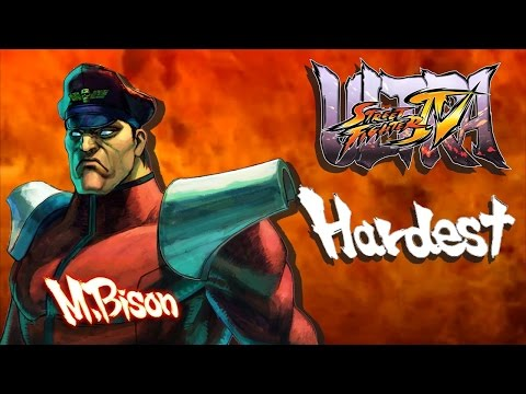 Ultra Street Fighter IV - M.Bison Arcade Mode (HARDEST)