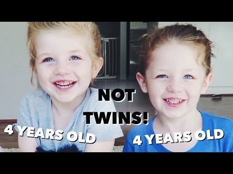 Brothers = Same Age But Not Twins!