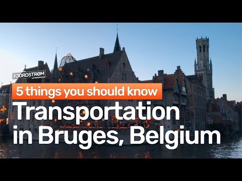 Transportation in Bruges: 5 things you should know