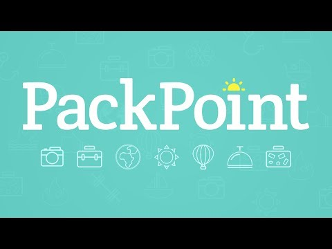 PackPoint travel packing list 1