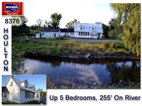 Maine Homes For Sale, 8 Porter Settlement Road On River MOOERS 8376