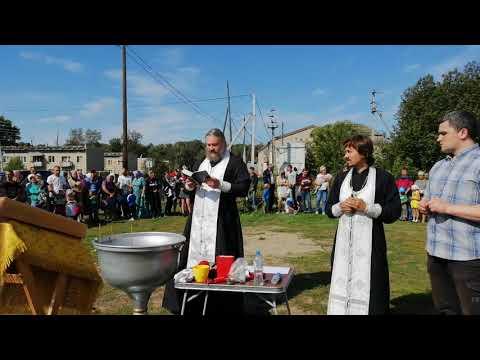 Крещение в деревне Соколовка.