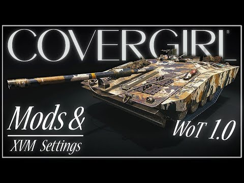 WoT 1 0 Recommended Mods & XVM Settings || World of Tanks