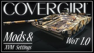 WoT 1.0 Recommended Mods & XVM Settings || World of Tanks