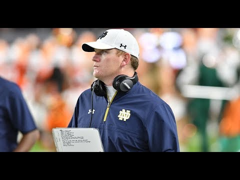 Chip Long On The Future Of The Notre Dame Offense