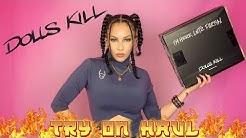 DOLLS KILL Haul Unboxing 🔥 Cyber Coco    Current Mood