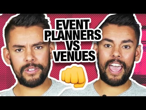 Why Event Planners and Venues Drive Each Other Insane