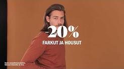 Miesten Farkut ja housut -20 % | Sokos & Emotion