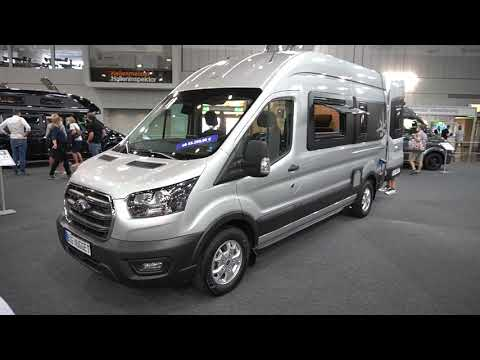 Ford Big Nugget 2021 - Das Raumwunder Kastenwagen Wohnmobil auf 6m komplettem Bad. Caravan Salon.