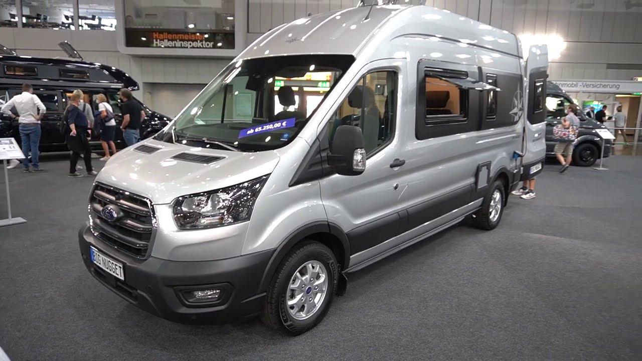 Ford Big Nugget 10 - Das Raumwunder Kastenwagen Wohnmobil auf 10m  komplettem Bad. Caravan Salon.