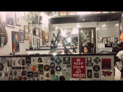 Tattoo Studio Interior