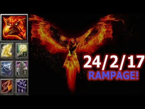 Поджариваю Пуканы. Phoenix - Ultra kill + RAMPAGE! (SR)