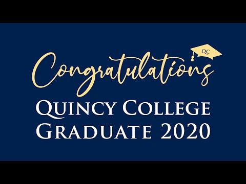 Quincy College Virtual Commencement 2020