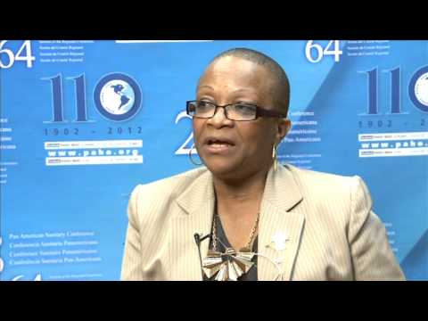Ann Peters, Minister of Health of Grenada speaks about the 28th Pan American Sanitary Conference