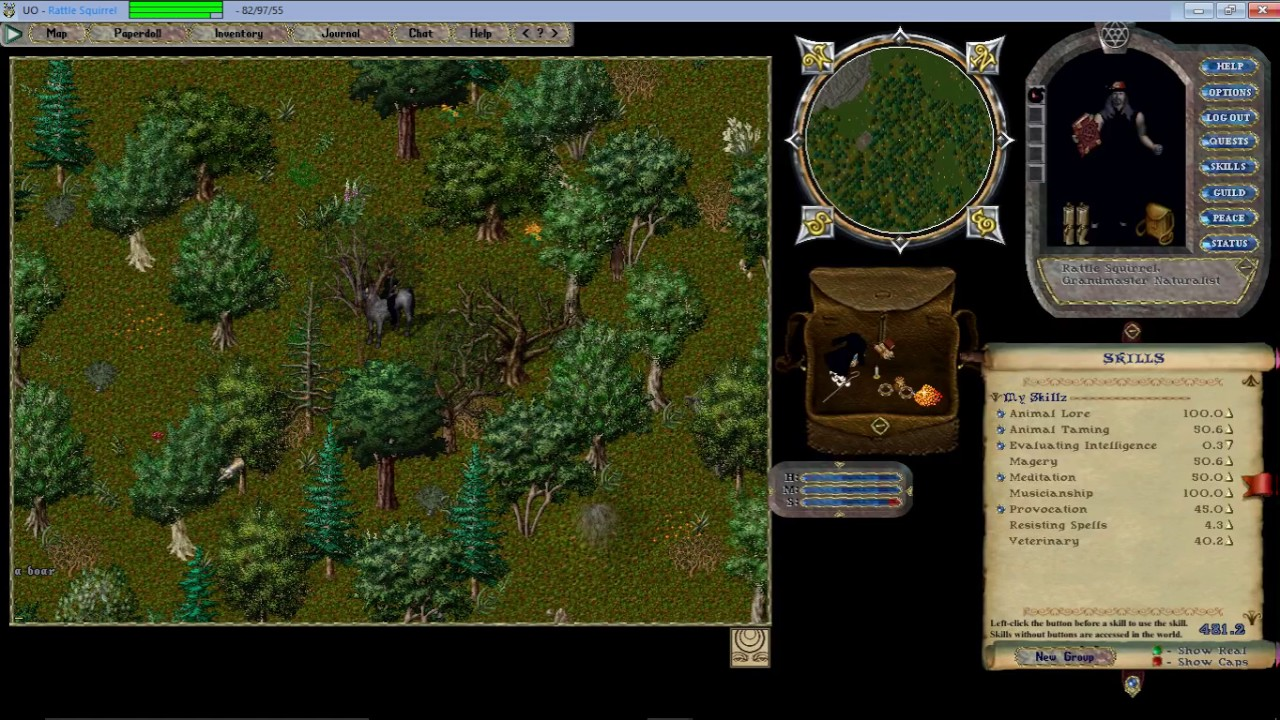 Let's Play Ultima Online Forever  Got taming to work and showing UOSteam!
