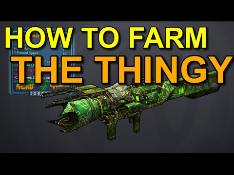 Borderlands The Pre-Sequel! How To Farm The Thingy! (Legendary Launcher)