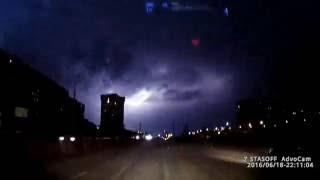 Молния в Самаре (18.06.2016) - Lightning in Samara