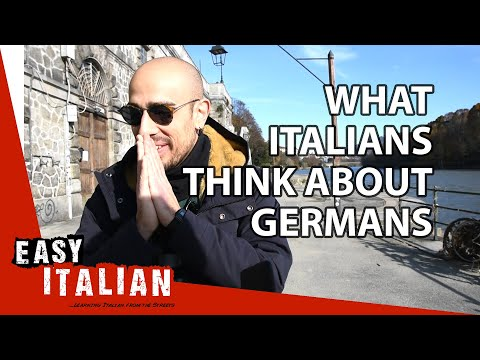 What Italians think about Germans | Easy Italian 26
