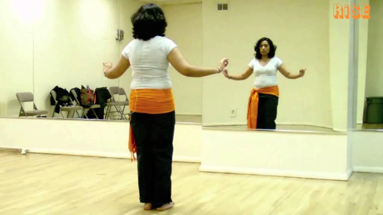 Beginner Belly Dance Moves - Vertical Figure 8 - YouTube