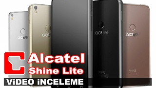 Alcatel Shine Lite Video İnceleme - Akıllı Telefon