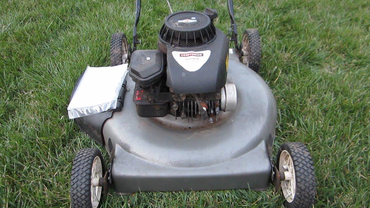 Sears Craftsman Broken Craigslist Find Lawn Mower Part I