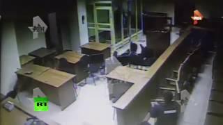 Видео перестрелки в Мособлсуде между членами «банды ГТА» и правоохранителями