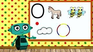 🎓 Учим звуки речи вместе с роботом Дашей. Звук О. Урок 3 (0+)