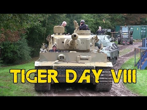 Tiger Day VIII at The Tank Museum