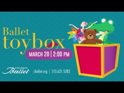 Ballet Toybox | Cincinnati Ballet