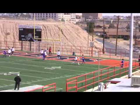 01 25 14 El Paso High Soccer Varsity Boys V Burges High