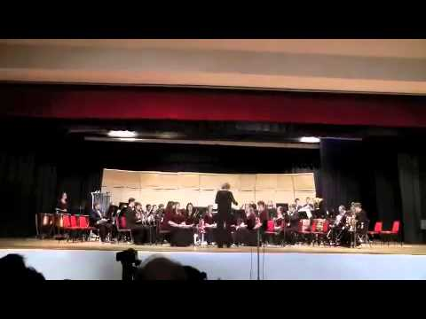 Eleanor Roosevelt High School ERHS Wind Ensemble Spring Concert 2011