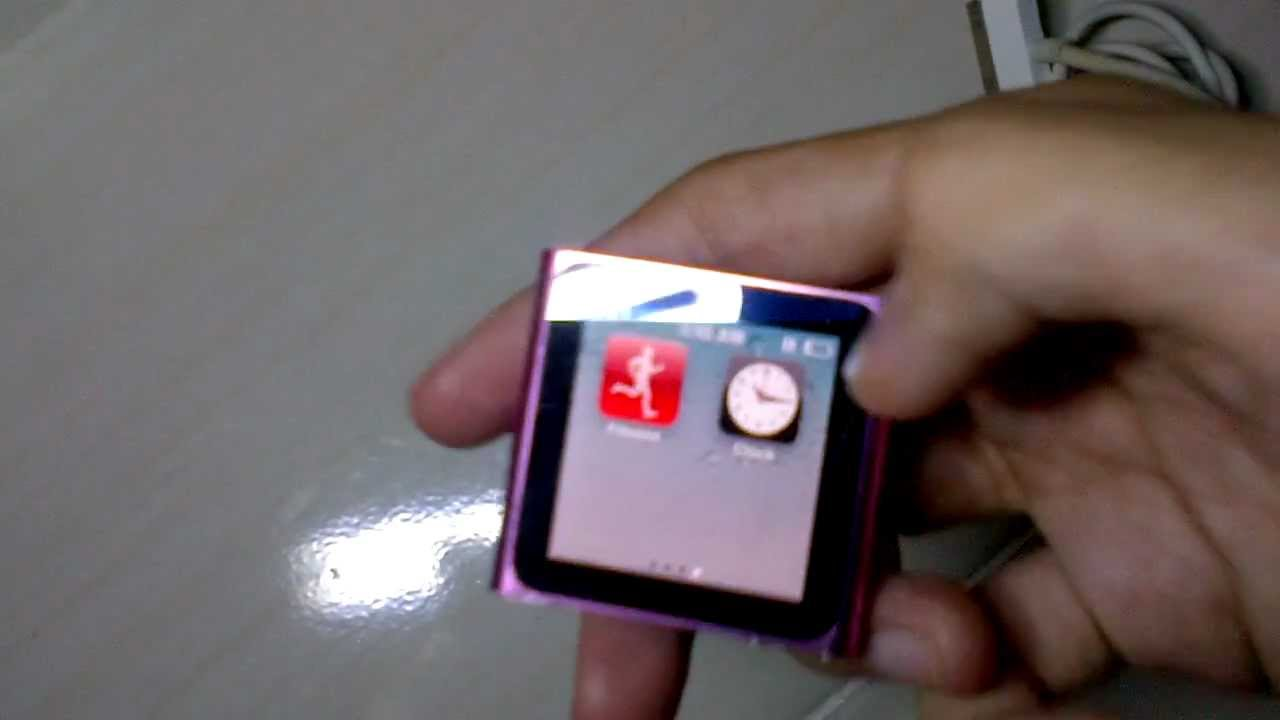 ipod nano 6th generation how to create playlist