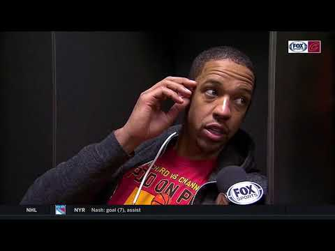 Channing Frye on role with Cleveland Cavaliers: