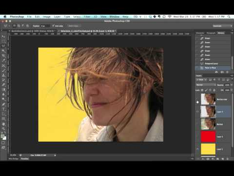 how to Sandwich images in photoshop part 34