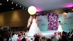 Oriental Pearl and Bubblegum Balloons - The Wedding Fair catwalk - 2016