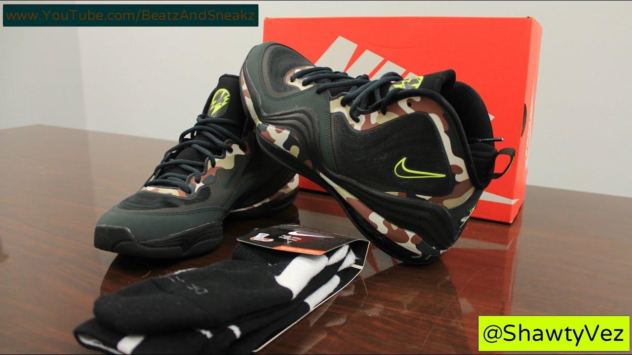 76aff81e2d42 Nike Air Penny V Camo Review - YouTube