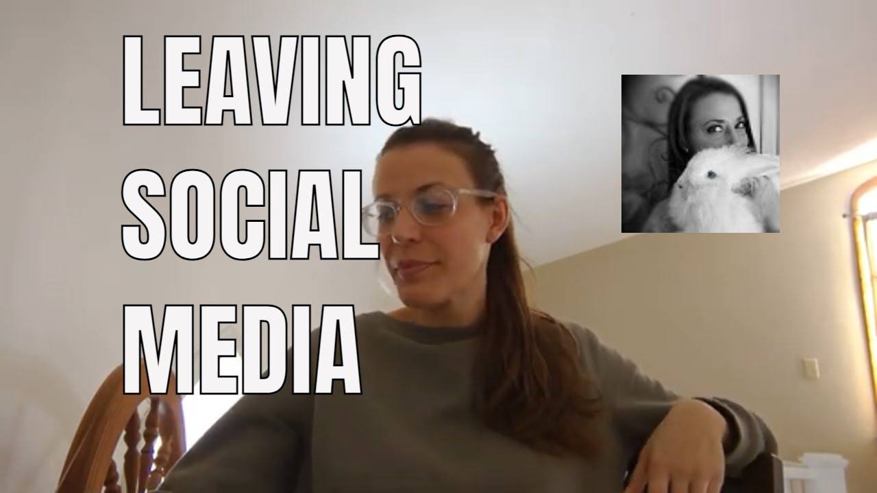 VLOG getting away from social media